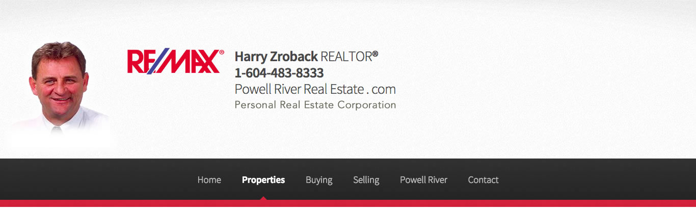 Harry Zroback Powell River Real Estate
